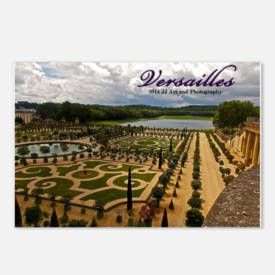 Versailles Garden Postcards (package Of 8)