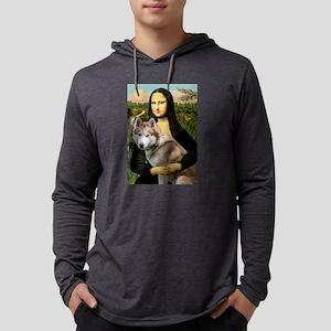 Mona & her Red Husky Long Sleeve T-Shirt
