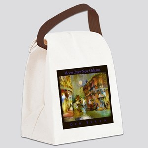 Moon Over New Orleans Canvas Lunch Bag
