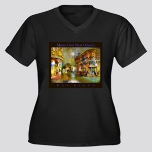 Moon Over New Orleans Plus Size T-Shirt