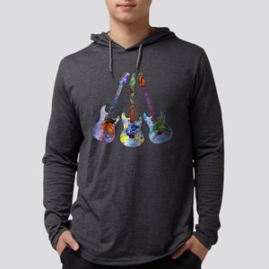 Wild Guitar Long Sleeve T-Shirt