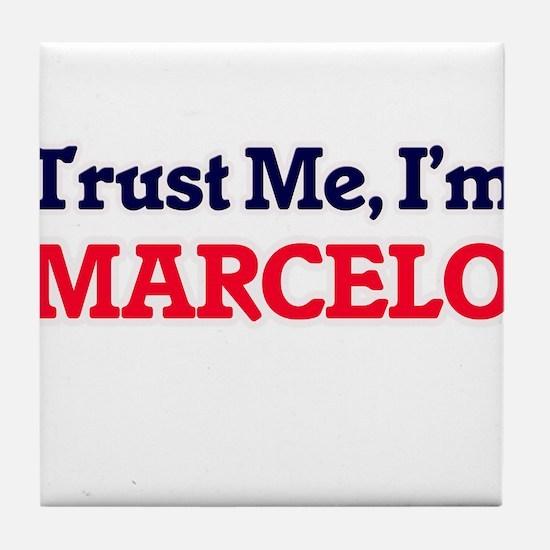 Trust Me, I'm Marcelo Tile Coaster