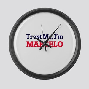 Trust Me, I'm Marcelo Large Wall Clock