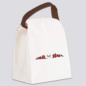 whitetail deer tag out a Canvas Lunch Bag