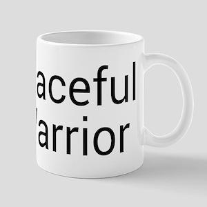 Peaceful Warrior Mugs