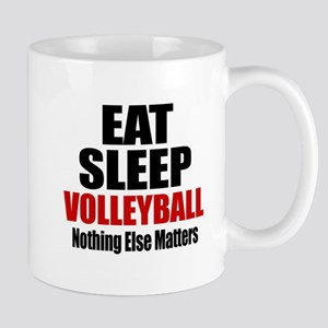 Eat Sleep Volleyball Mug