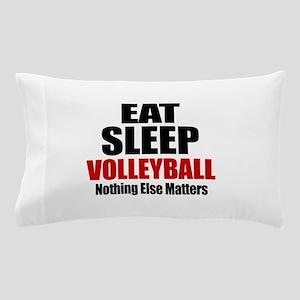 Eat Sleep Volleyball Pillow Case