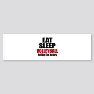 Eat Sleep Volleyball Sticker (Bumper)