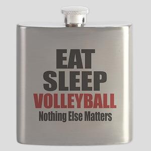 Eat Sleep Volleyball Flask