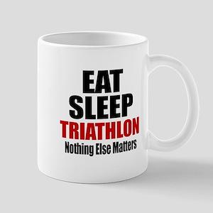 Eat Sleep Triathlon Mug