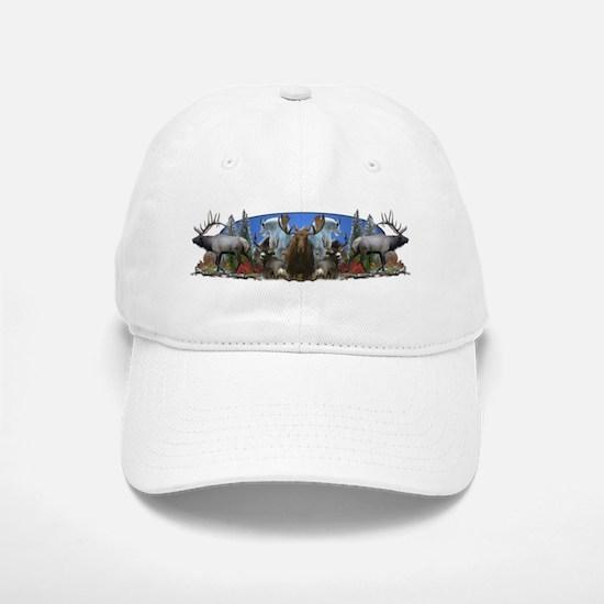 Elk,deer,moose,goat Baseball Baseball Cap