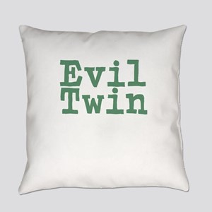 Evil Twin Everyday Pillow