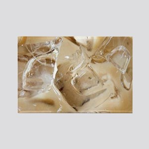 Vanilla Iced Coffee Rectangle Magnet