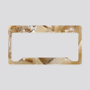 Vanilla Iced Coffee License Plate Holder