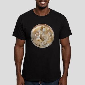 Vanilla Iced Coffee Men's Fitted T-Shirt (dark)