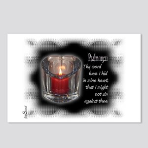 Psalm 119:11 Postcards (Package of 8)
