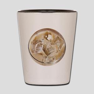 Vanilla Iced Coffee Shot Glass