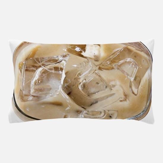 Vanilla Iced Coffee Pillow Case