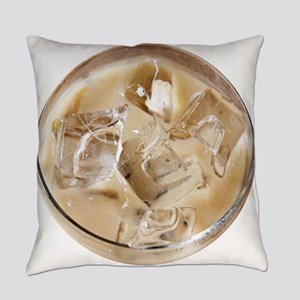 Vanilla Iced Coffee Everyday Pillow