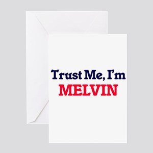 Trust Me, I'm Melvin Greeting Cards