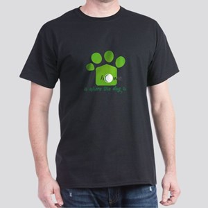 home is where the dog is T-Shirt