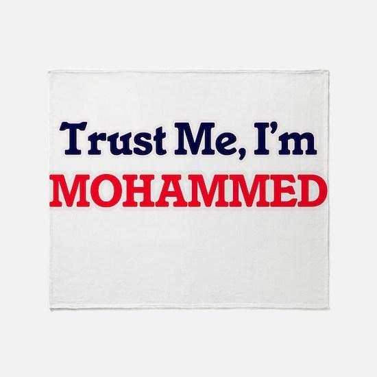 Trust Me, I'm Mohammed Throw Blanket