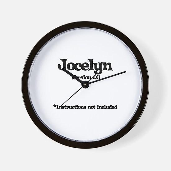 Jocelyn Version 1.0 Wall Clock