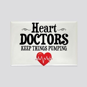 Heart Doctor Rectangle Magnet