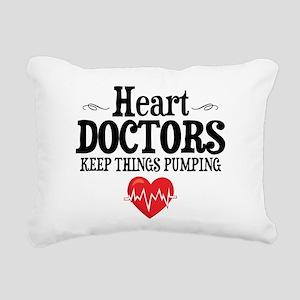 Heart Doctor Rectangular Canvas Pillow