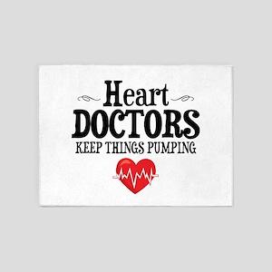 Heart Doctor 5'x7'Area Rug