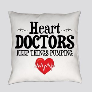 Heart Doctor Everyday Pillow