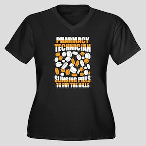 Pharmacy Tech Shirt - Slinging P Plus Size T-Shirt