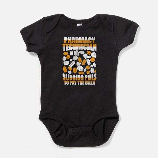 Pharmacy Tech Shirt - Slinging Pills Baby Bodysuit