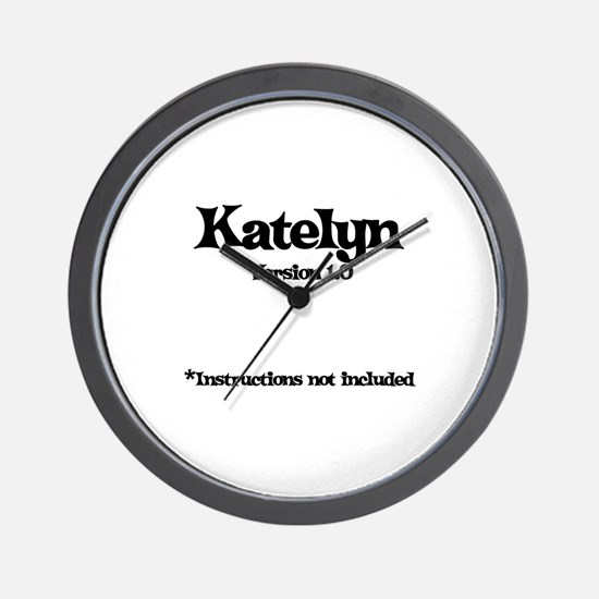 Katelyn Version 1.0 Wall Clock