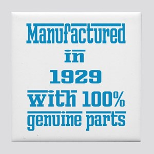Manufactured in 1929 with 100% Genuin Tile Coaster