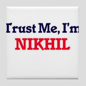 Trust Me, I'm Nikhil Tile Coaster