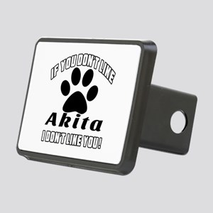 If You Don't Like Akita Do Rectangular Hitch Cover