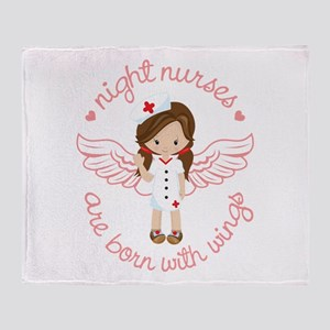 Night Nurse Throw Blanket