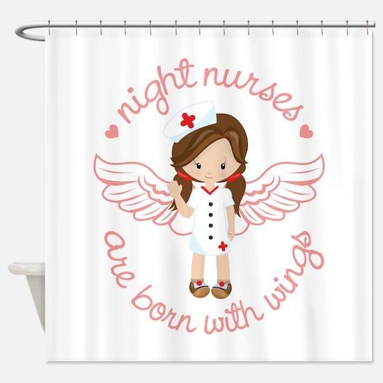 Night Nurse Shower Curtain