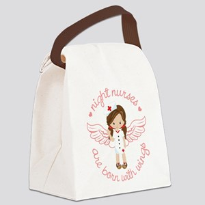 Night Nurse Canvas Lunch Bag