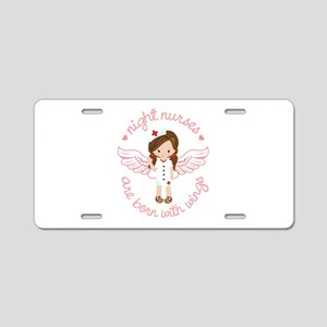 Night Nurse Aluminum License Plate