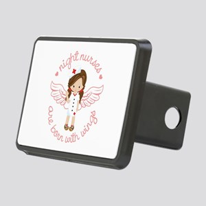Night Nurse Rectangular Hitch Cover