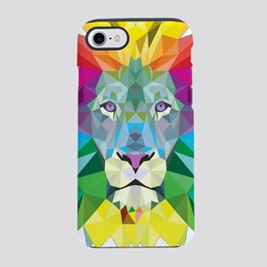 Rainbow Lion iPhone 8/7 Tough Case