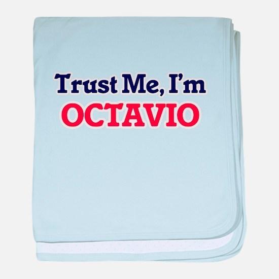 Trust Me, I'm Octavio baby blanket