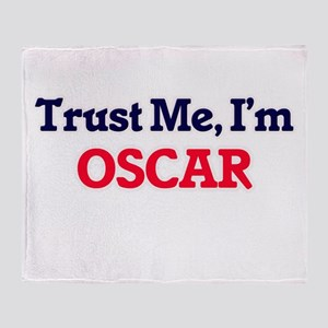Trust Me, I'm Oscar Throw Blanket