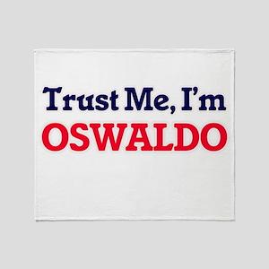 Trust Me, I'm Oswaldo Throw Blanket
