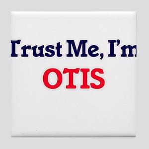 Trust Me, I'm Otis Tile Coaster