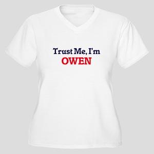 Trust Me, I'm Owen Plus Size T-Shirt