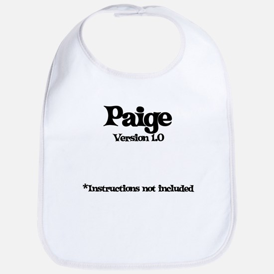 Paige Version 1.0 Bib