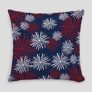 USA Fireworks Everyday Pillow